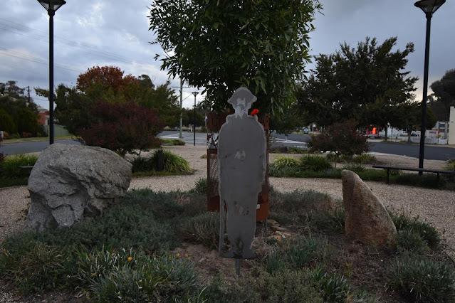 Tarcutta Public Art | ANZAC Memorial Cutouts