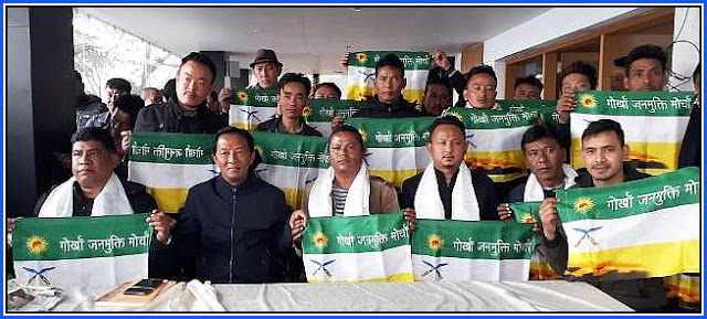 GNLF supporters joins GJM in Pokhriabung Nagari