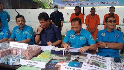 BNN Menyita Aset Senilai Rp 6 M Milik Bandar Narkoba Ekstasi Minion