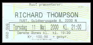 From the Basement: 2000-05-11 - Richard Thompson