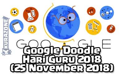 Google Doodle - Hari Guru 2018 (25 November 2018) - Sejarah dan Kata Kata