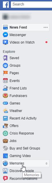 My Facebook Memories | How To Access Memories Today On Facebook