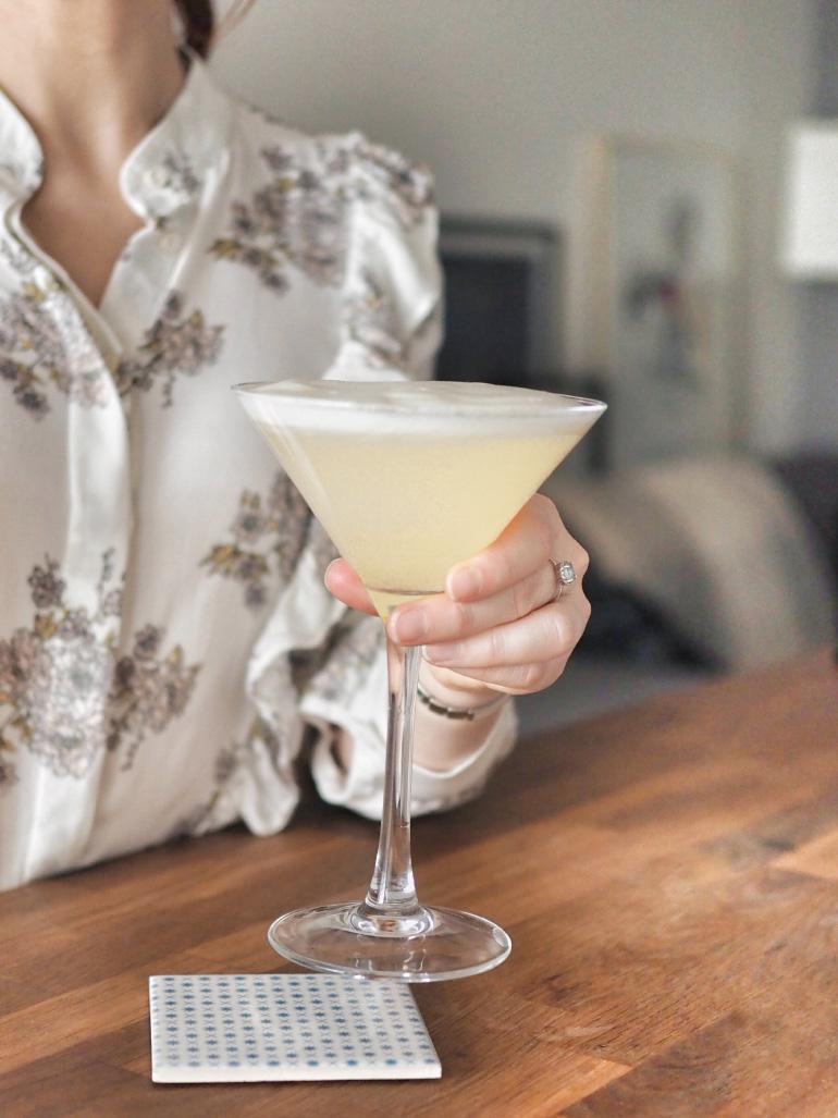 Recette de cocktail : vodka et fleurs de sureau
