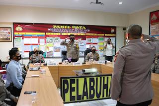 Jelang Natura, Polres Pelabuhan Makassar gelar Latpra Ops Lilin 2020