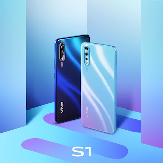 Vivo S1, Cosmic Green dan Skyline Blue