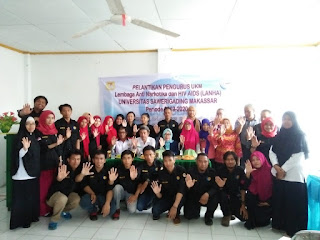 Pelantikan Pengurus UKM-LANHA Periode 2019-2020