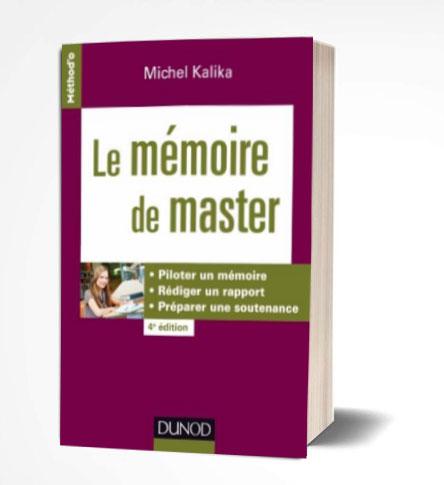 livre le Mémoire de master PDF