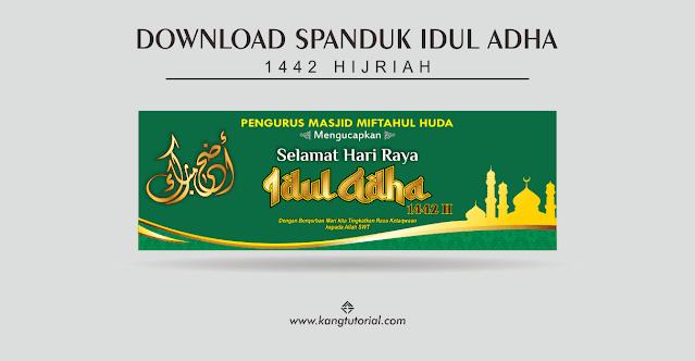 Contoh Desain Spanduk Idul Adha 1442 H Tahun 2021
