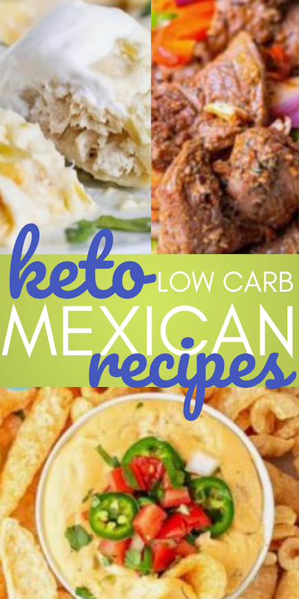 Low Carb and Keto Mexican Recipes