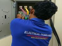 Service panel listrik