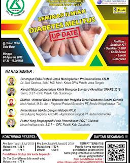 Seminar Ilmiah dan Pelantikan Pengurus DPC Kabupaten Sukoharjo 2019