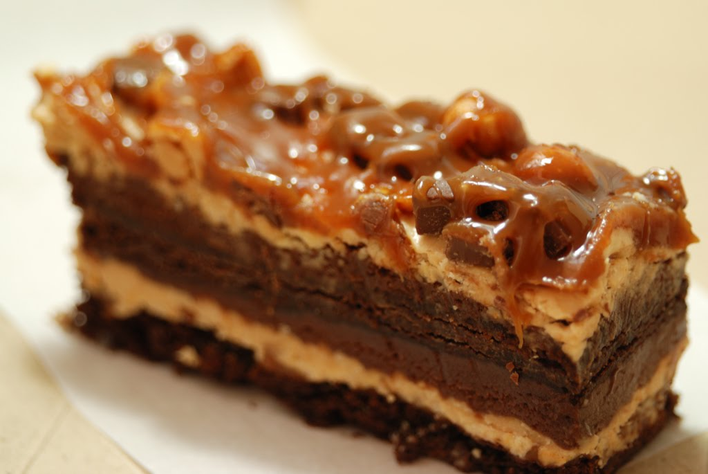 Chocolate Peanut Butter Stack Cake