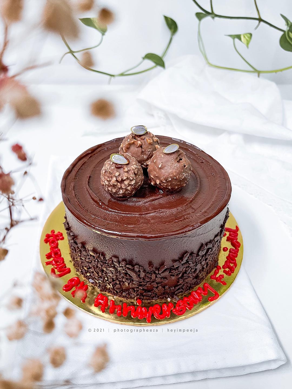 Kek Mini Ferrero Rocher