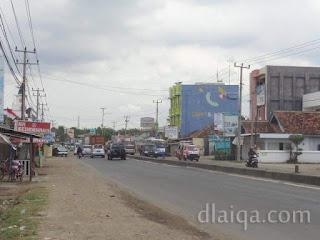 menuju pasar Natar dan Bandar Lampung