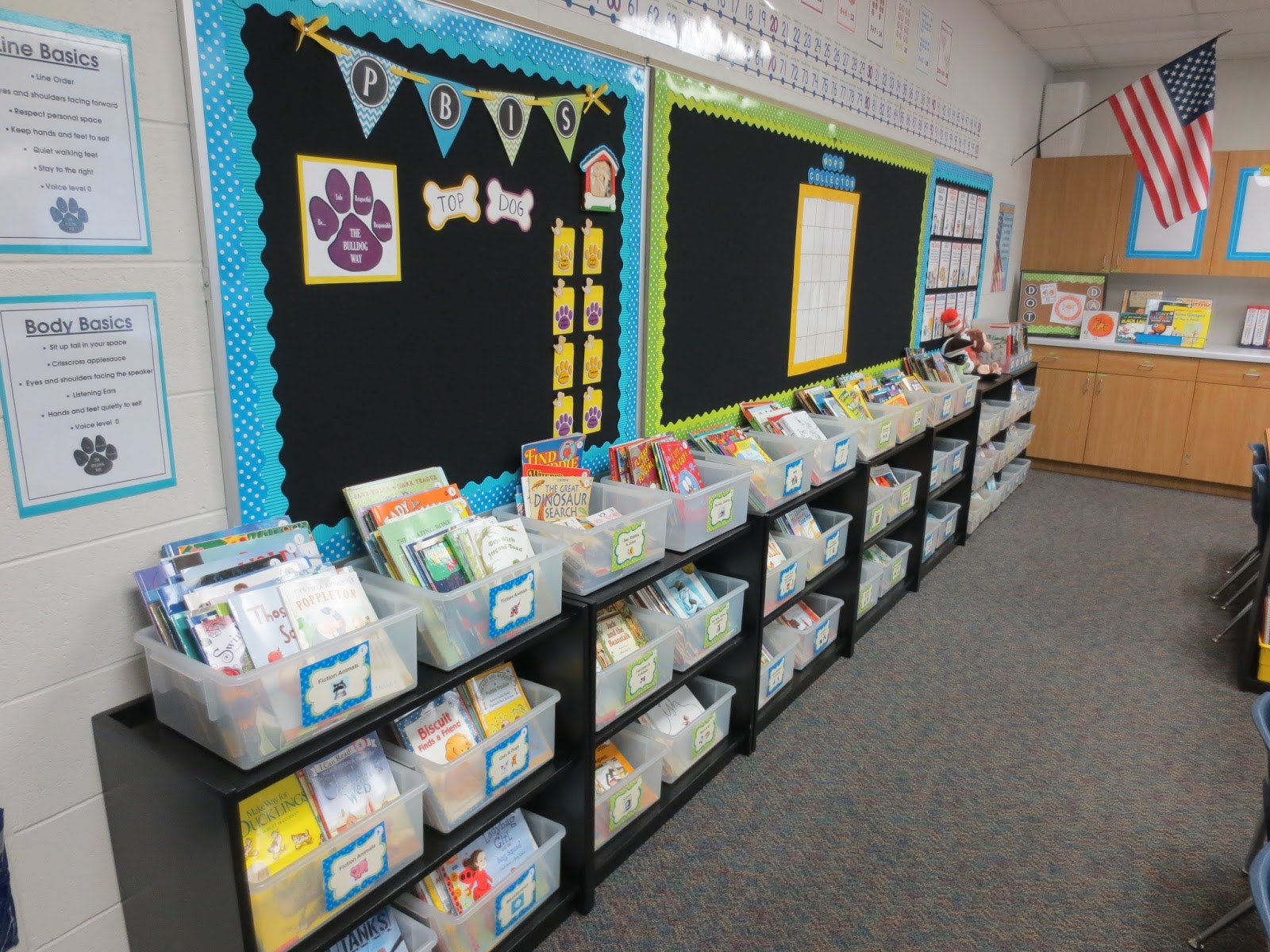 Setting Up For Second Classroom Reveal