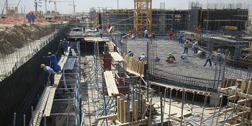 المراحل الرئيسية لمشاريع التشييد والبناء