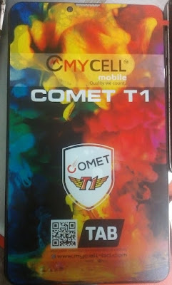 MYCELL COMET T1 FLASH FILE