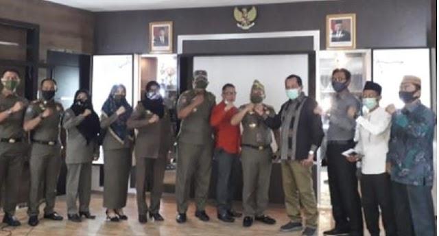 Komisi I DPRD Kabupaten Kepulauan Meranti Gelar Rapat Kerja Bersama Satpol PP