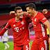 JOGAÇO! Lewandowski marca 4 gols e Bayern de Munique derrota o Hertha nos acréscimos