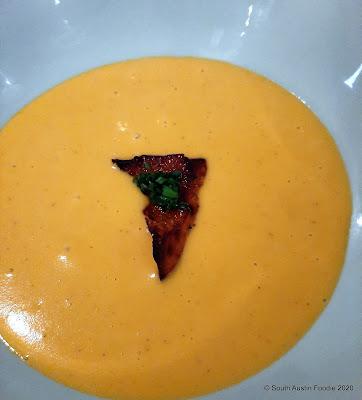 Chapeau Bistro kabocha soup