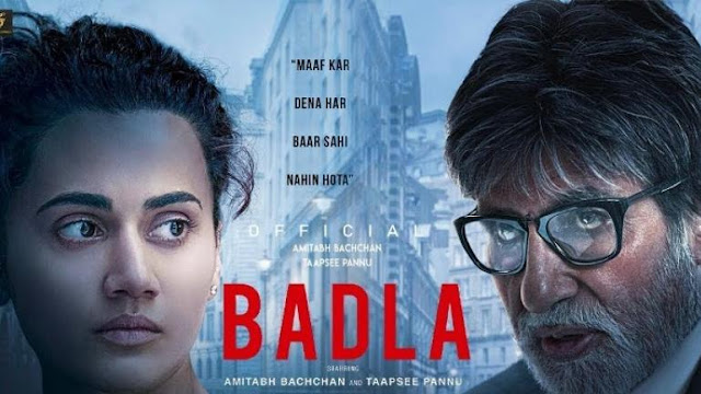 5 Reasons to watch Badla Movie that has already crossed over 40 crores in its earnings till date! ~Movie Review on Njkinny's Blog