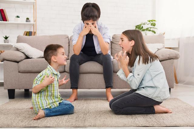الحد من المشاجرات بين الأطفال بالمنزل
