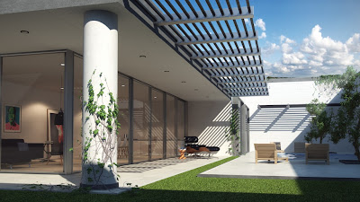 Realistic Exterior Rendering By Using Vray Sun Cg Tutorial