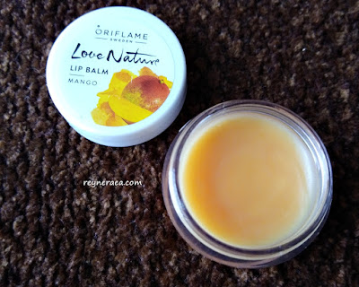 love nature lip balm mango
