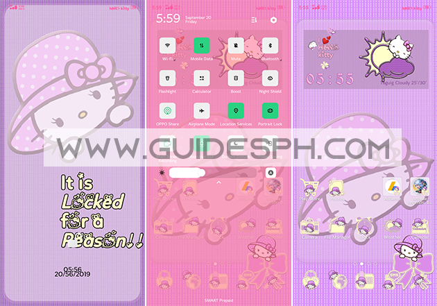 Oppo Theme: Simple Hello Kitty Theme