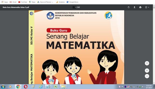 Buku Guru Matematika Kelas 5 SD/MI K-13
