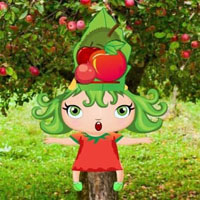 G2R Funny Apple Baby Escape