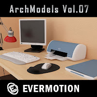 Evermotion Archmodels vol.07單體3dsMax模型合集第07期下載