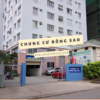 chung cư Bông Sao 2 phòng ngủ đường Tạ Quang Bửu quận 8