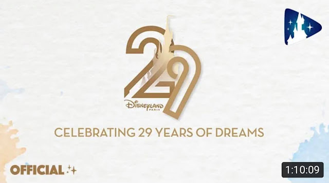 Special Video Celebrating 29 Years of Dreams with Disneyland Paris