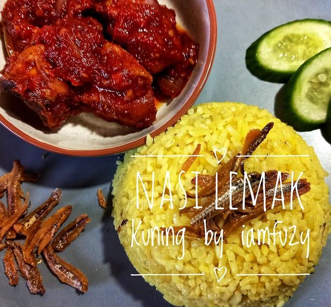 Resepi Nasi Lemak Kuning Ala Utara Sedap Dan Mudah