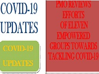pmo review,efforts, covid-19,letsupdate
