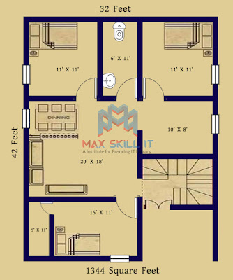 Ground Floor House Design | Small House Design Plan