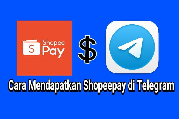 cara mendapatkan shopeepay gratis di telegram