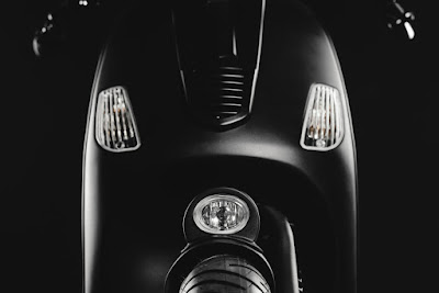 Vespa LX  Custom Front End by Butcher Garage