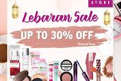 Promo AEON Store Terbaru Lebaran Sale Diskon 30% Khusus Produk Make Up Branded