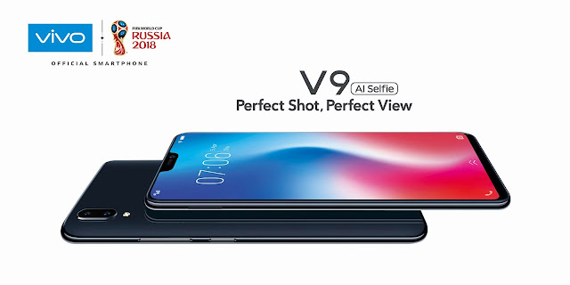 AI-powered Vivo V9 surpasses 18,000 pre-orders ahead of nationwide launch #VivoV9