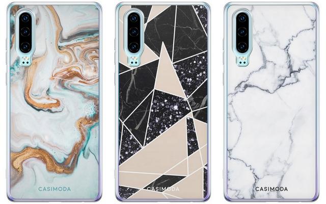 Shop tip modieuze telefoonhoesjes van Casimoda smartphone hoesje huawei prints marmer marble modern minimalistisch stijlvol
