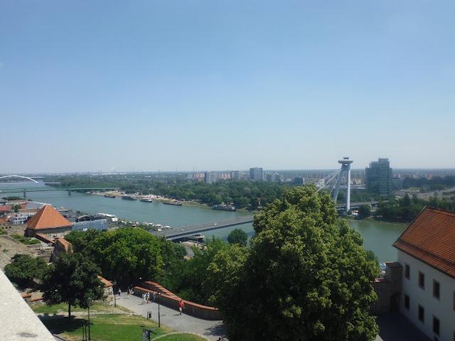Vistas desde el Castillo de Bratislava (@mibaulviajero)