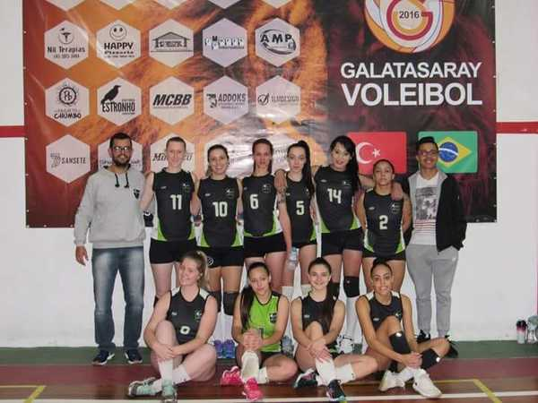 Equipe Máfia de voleibol feminino de Canoinhas