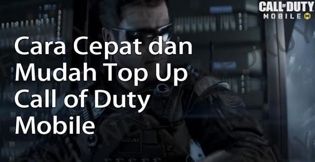 Cara Mudah Top Up Call of Duty Mobile