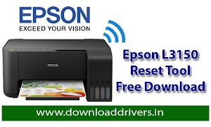 Download Epson L3150 resetter tool | Download Epson adjustment software