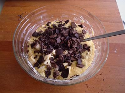 Muffin banana e cioccolato 4