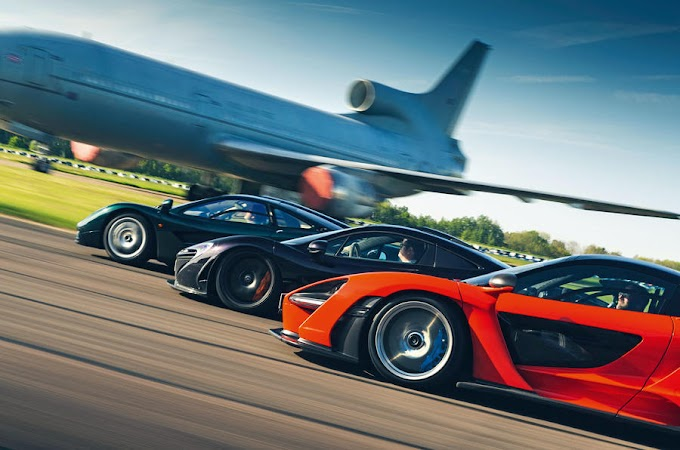 Flat out in McLaren's ultimate trio: F1 vs P1 vs Senna