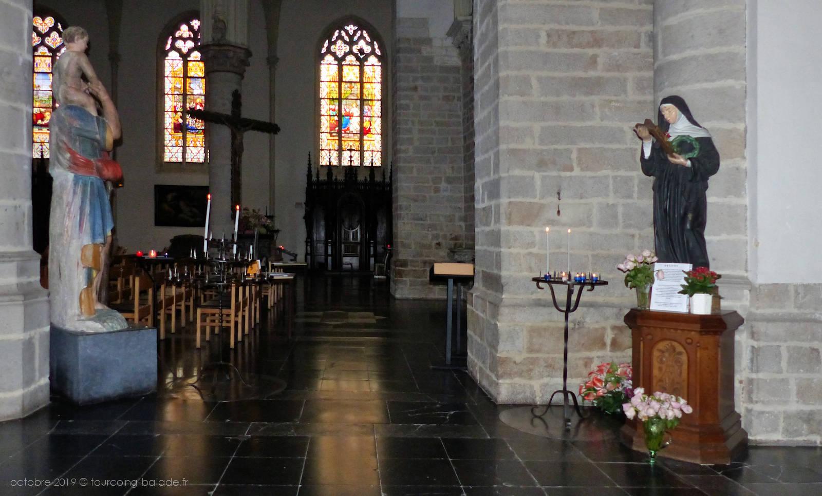 Rita et Christophe, église St Christophe, Tourcoing 2019