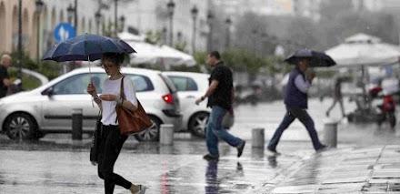 Θεσσαλονίκη: Η δυνατή βροχή έφερε κυκλοφοριακή συμφόρηση